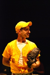 Alejandro Rodriguez in GHETTO BABYLON at 59E59 Theaters. Photo by Lisa Silberman