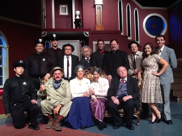 The cast of ARSENIC & OLD LACE PHOTO: Courtesy of Stage Right Players