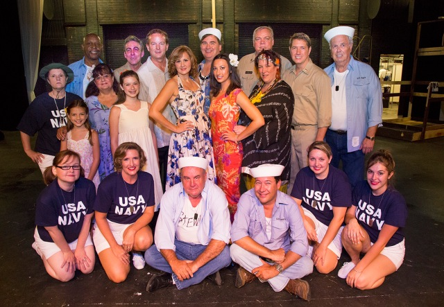The Cast of SOUTH PACIFIC PHOTO: Brad Meyer