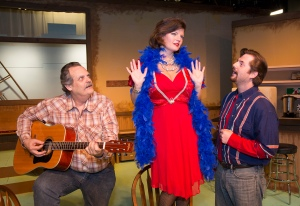 (L-R) Bill Torgan as Virgil, Cristy Campobella as Cherie & Brian Heaton as Bo PHOTO: Brad Meyer