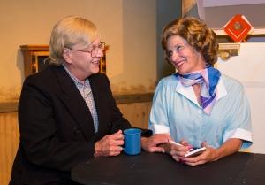 John McDonald as Carl & Marilyn Moore as Grace PHOTO: Brad Meyer