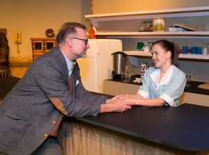 Allen Dorris as Dr.Lyman & Jacque Dowell as Elma PHOTO: Brad Meyer