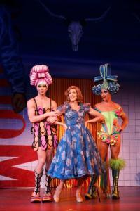 Tick, Bernadette & Felicia PHOTO: Joan Marcus