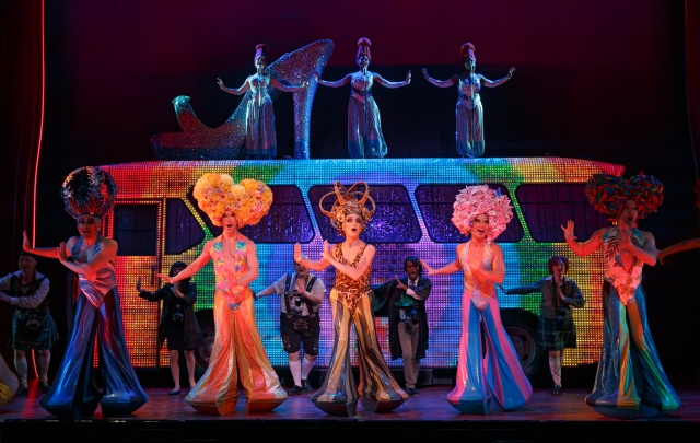 Cast of PRISCILLA, Queen of the Desert PHOTO: Joan Marcus