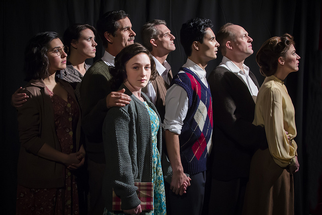 "Cast of ADP's ""Diary of Anne Frank"" PHOTO: Bara Photography"