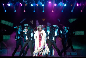 Carla R. Stewart and cast of Ghost The Musical Tour. © Joan Marcus 2013