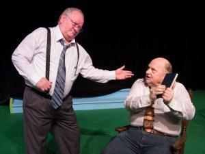 Mark Hayter (left) with Quint Bishop PHOTO: Brad Meyer