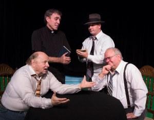 (L-R) Quint Bishop, Rick Sellers, Joey Lamont & Mark Hayter PHOTO: Brad Meyer