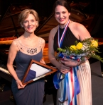 YTA Chair, Susie Pokorski (left) with Grand Prize Winner, Allegra DeVita PHOTO: Brad Meyer
