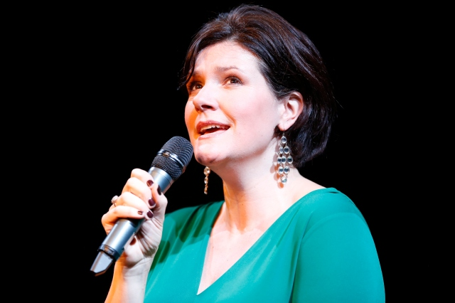 Kate Dimbleby in BEWARE OF YOUNG GIRLS: KATE DIMBLEBY SINGS DORY PREVIN. Photo by Carol Rosegg