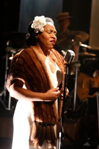 Charenee Wade in CAFE SOCIETY SWING at 59E59 Theaters. Photo by Carol Rosegg