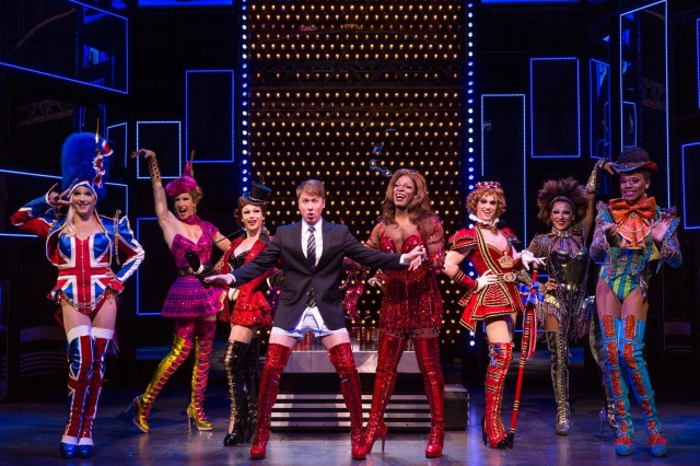 The Cast of KINKY BOOTS Photo: Matthew Murphy