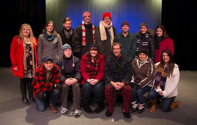 The Cast of ALMOST,MAINE Photo by Brad Meyer