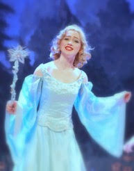 Isabelle Yost as THE BLUE FAIRY Photo: Paul Wickboldt