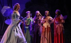 The Blue Fairy & her Fairies-in-Training PHOTO: K. Navarra