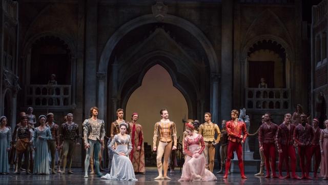Artists of the Houston Ballet PHOTO: Amitava Sarkar