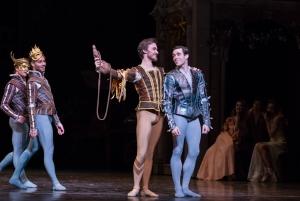 Connor Walsh, Jared Matthews and Artists of the Houston Ballet PHOTO: Amitava Sarkar