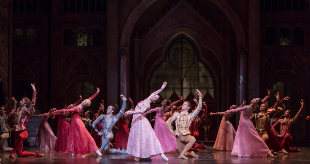 Artists of the Houston Ballet PHOTO: Amitava Sarkar
