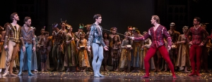 Connor Walsh, Christopher Coomer and Artists of the Houston Ballet Photo: Amitava Sarkar