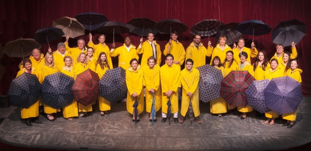 Cast of Singin' in the Rain Photo: Michael Pittman *CLICK any photo to enlarge*