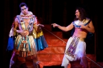 PHOTO: DANIEL A. SWALEC Ryan Williams as Pharaoh and Ace Young as Joseph