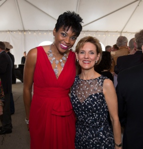 Jade Simmons (left) with YTA Chair, Susie Pokorski PHOTO: Brad Meyer