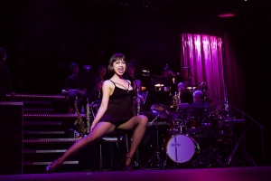 Christine Saenz as Roxie in CHICAGO Photo: Lone Star College-Montgomery