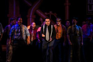 The Gamblers Roll the Dice in GUYS & DOLLS Photo: Courtesy of RTC