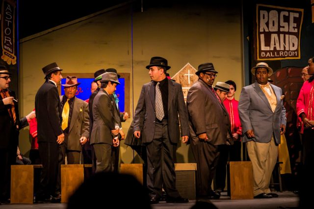 Cast Members of RTC's GUYS & DOLLS Photo: Courtesy of RTC
