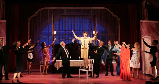 The cast of Goodspeed Musicals LA CAGE AUX FOLLES Photo: Diane Sobolewski