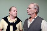 Bill (Jim King at left) meets Norman (Don Hampton) PHOTO: Michael Pittman Images