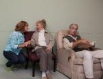 Chelsea (Kim Bryant at left) visits Mom & Dad PHOTO: Michael Pittman Images