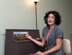 Jennifer Hennessy Marshall as the Switchboard Operator PHOTO: Michael Pittman Images
