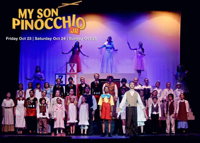 The CYT Cast of MY SON PINOCCHIO Jr.