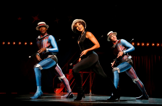 PIPPIN cast members (L-R) Borris York, Gabrielle McClinton, Mathew deGuzman PHOTO: Joan Marcus