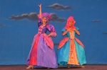 Maddie Bergeron (left) and Payton Russell as Cinderella's stepsisters. *Courtesy Photo*
