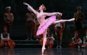 Sara Webb as Princess Aurora Photo: Amitava Sarkar