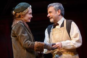 Shannon Cochran as  Fräulein Schneider  and Mark Nelson as  Herr Schultz