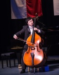 Peng Wang on Double Bass PHOTO: Dave Clements of DWC Photography