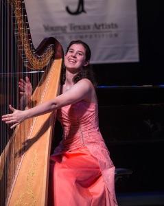 Harpist, Rachel Knight PHOTO: Dave Clements / DWC Photography