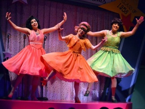 Courtesy Photo (L-R) Jenna Leigh Green, Christina Bianco & Sally Schwab from the cast of The Marvelous Wonderettes