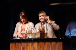 April Ortiz as Camila Rosario and Danny Bolero as Kevin Rosario PHOTO by Os Galindo