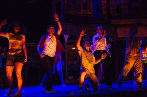 The Cast of In The Heights PHOTO by Os Galindo