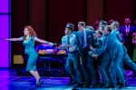 Felicia Finley as Hedy LaRue and the Cast of How To Succeed