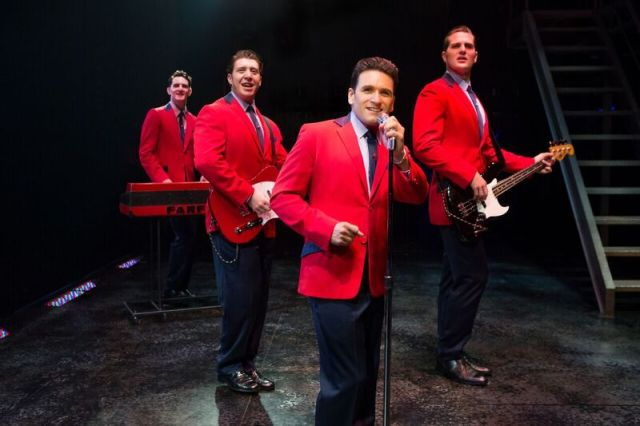 The Cast of JERSEY BOYS PHOTO BY: Jeremy Daniel