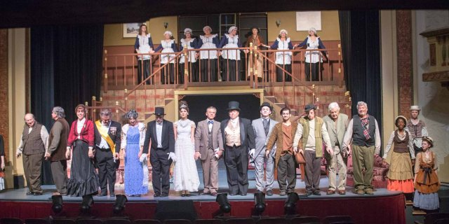 The Cast of MY FAIR LADY Photo: Dave Clements