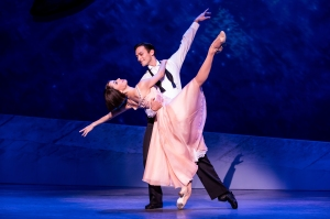 Sara Esty & Garen Scribner in An American in Paris PHOTO by Matthew Murphy