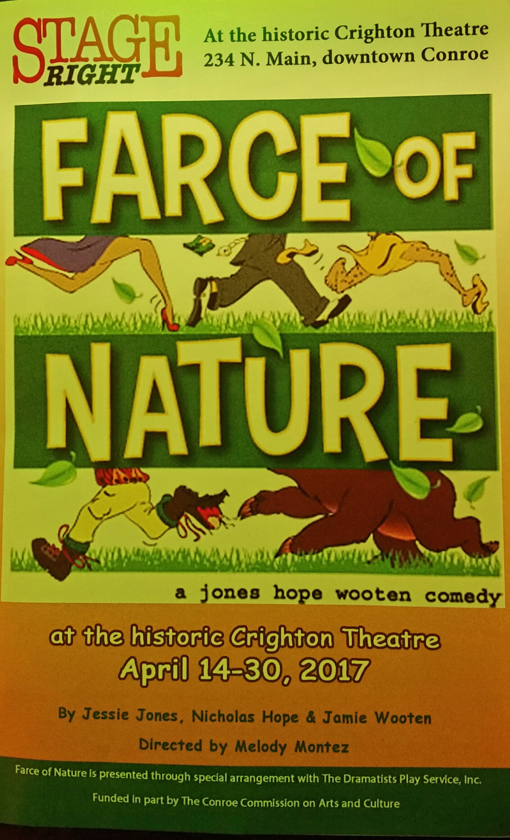 Farce of nature honors military local law enforcement at for Farcical law