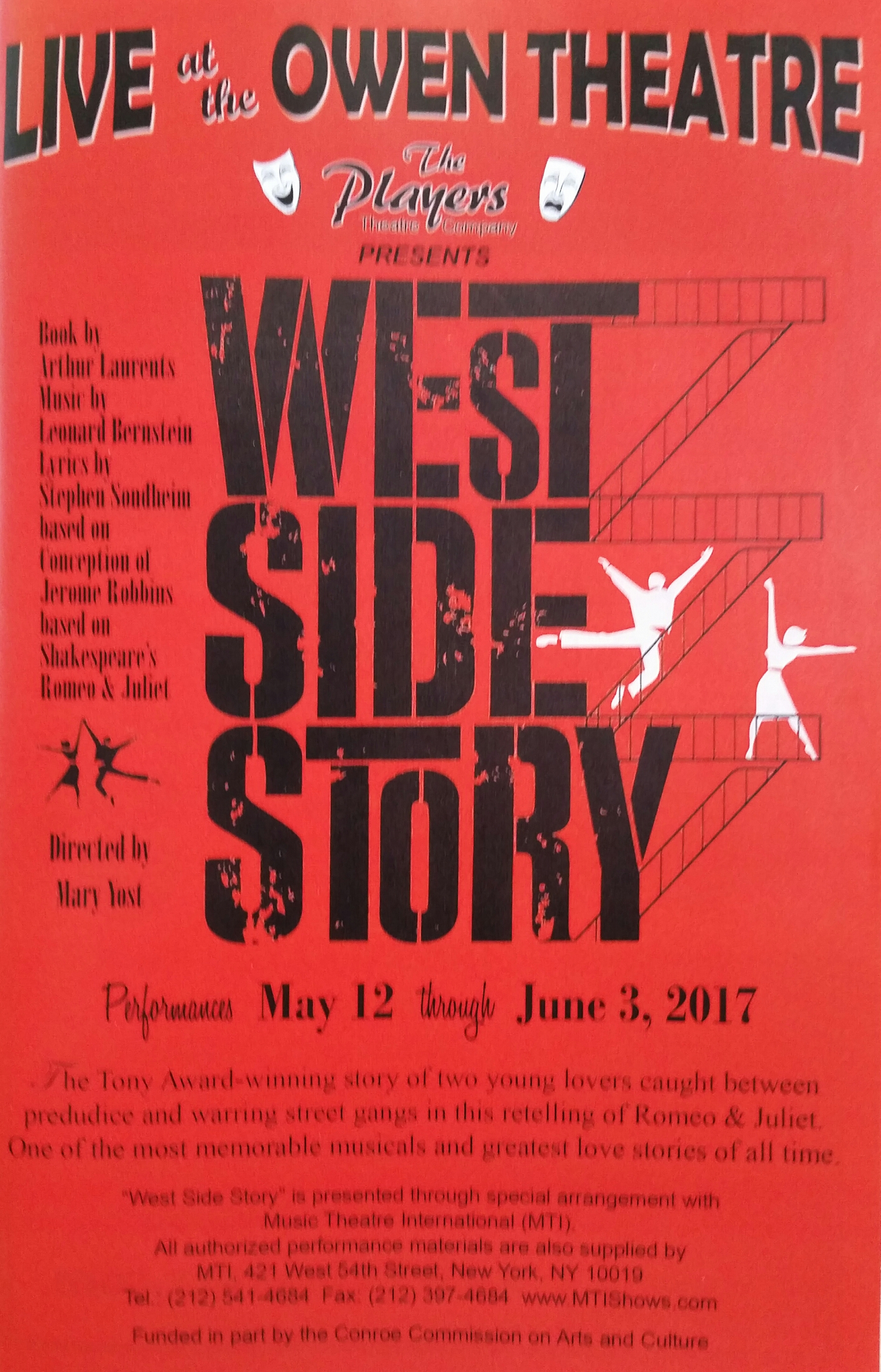 a breathtaking west side story dances into the owen theatre the